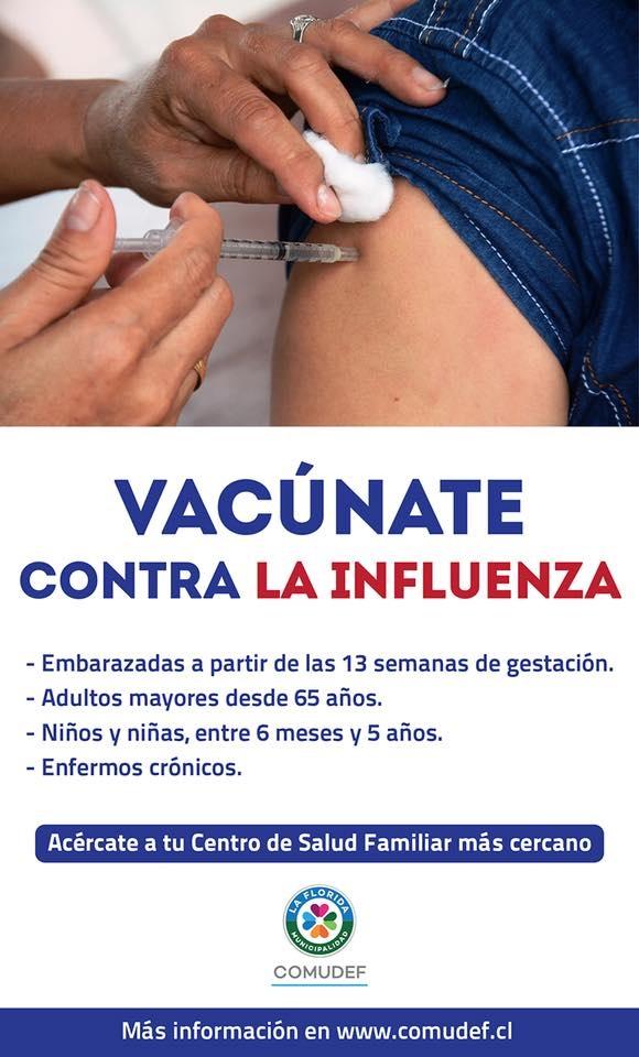 vacúnate contra la influenza