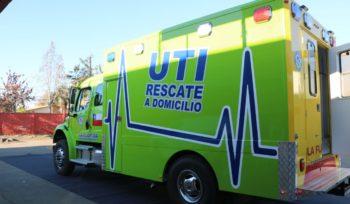 Ambulancia que en La Florida funciona como UTI
