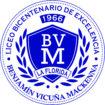 insignia BVM blanco
