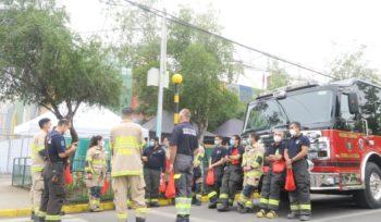 La Florida vacuna a recolectores de basura y bomberos