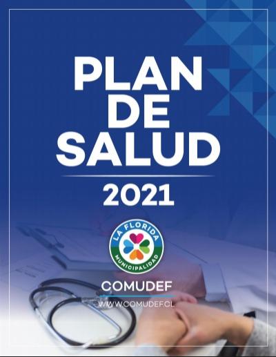 Imagen portada Plan de salud 2021