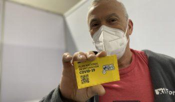 Relato fotográfico vacunación contra covid-19 en La Florida